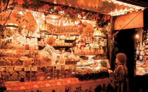 Weihnachtsmarkt Laufenburg.Weihnachtsmarkt Laufenburg